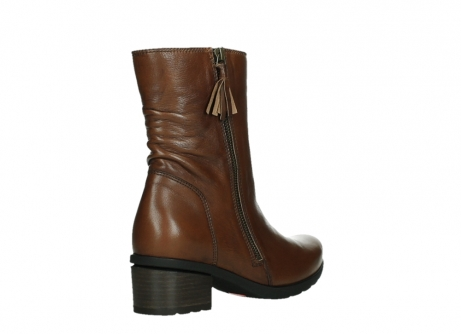 wolky ankle boots 07501 skytree 20430 cognac leather_22