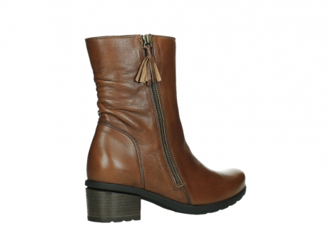 wolky ankle boots 07501 skytree 20430 cognac leather_23