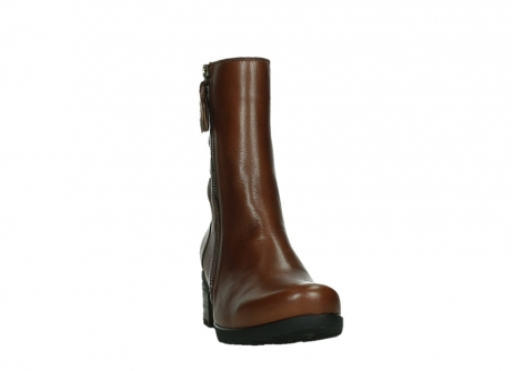 wolky ankle boots 07501 skytree 20430 cognac leather_6