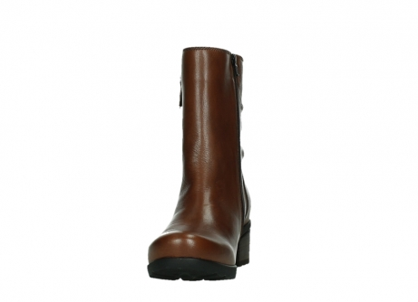 wolky mid calf boots 07501 skytree 20430 cognac leather_8