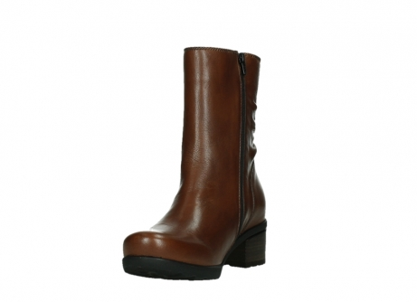 wolky ankle boots 07501 skytree 20430 cognac leather_9