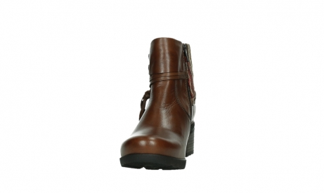 wolky ankle boots 07502 aspire 29430 cognac leather_8