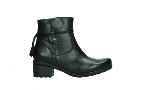 wolky ankle boots 07504 macau 20000 black leather_1