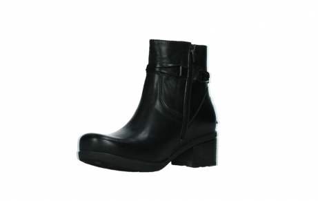 wolky ankle boots 07504 macau 20000 black leather_10