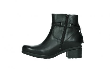 wolky ankle boots 07504 macau 20000 black leather_12