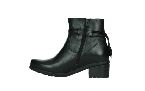 wolky ankle boots 07504 macau 20000 black leather_13