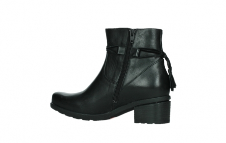 wolky ankle boots 07504 macau 20000 black leather_14
