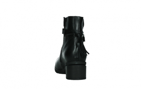 wolky ankle boots 07504 macau 20000 black leather_18