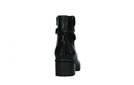 wolky ankle boots 07504 macau 20000 black leather_19