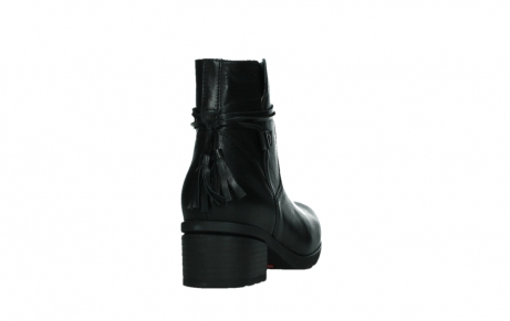 wolky ankle boots 07504 macau 20000 black leather_20