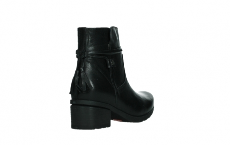 wolky ankle boots 07504 macau 20000 black leather_21
