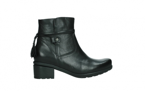 wolky ankle boots 07504 macau 20000 black leather_24
