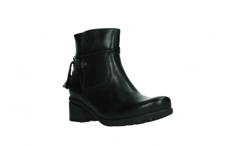 wolky ankle boots 07504 macau 20000 black leather_4