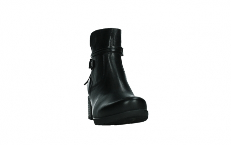 wolky ankle boots 07504 macau 20000 black leather_6