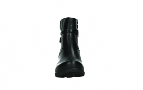 wolky ankle boots 07504 macau 20000 black leather_7