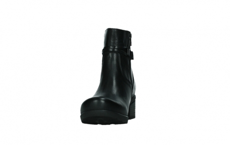 wolky ankle boots 07504 macau 20000 black leather_8