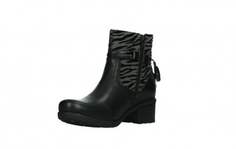 wolky ankle boots 07504 macau 28000 black effect leather_10