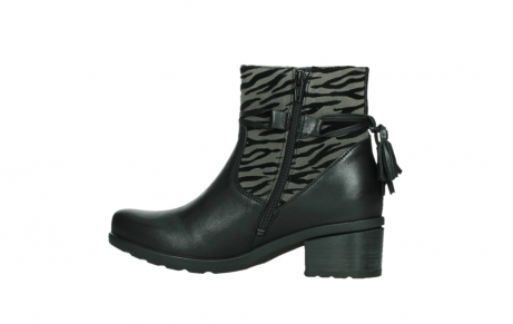 wolky ankle boots 07504 macau 28000 black effect leather_14