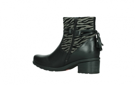 wolky ankle boots 07504 macau 28000 black effect leather_15