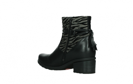 wolky ankle boots 07504 macau 28000 black effect leather_16