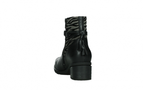 wolky ankle boots 07504 macau 28000 black effect leather_18