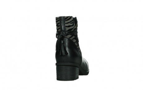 wolky ankle boots 07504 macau 28000 black effect leather_20