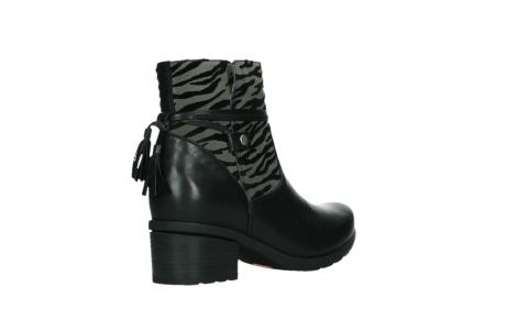 wolky ankle boots 07504 macau 28000 black effect leather_22