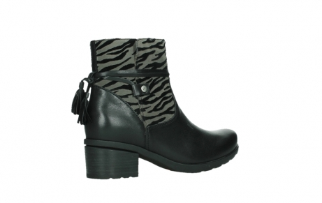 wolky ankle boots 07504 macau 28000 black effect leather_23