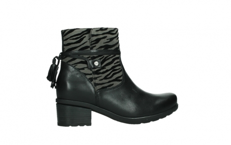 wolky ankle boots 07504 macau 28000 black effect leather_24