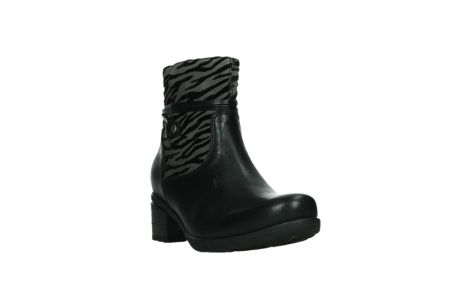 wolky ankle boots 07504 macau 28000 black effect leather_5