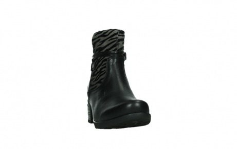 wolky ankle boots 07504 macau 28000 black effect leather_6