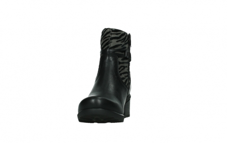 wolky ankle boots 07504 macau 28000 black effect leather_8