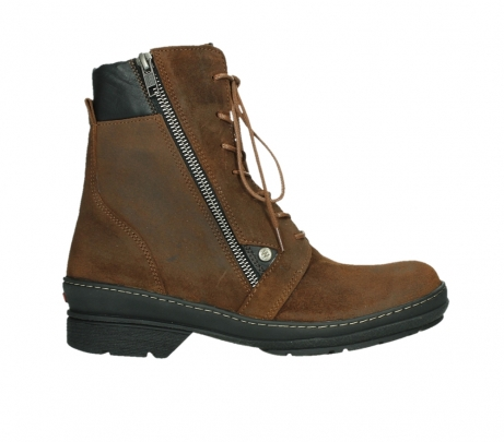 wolky ankle boots 07640 partizan 45410 tobacco suede_1
