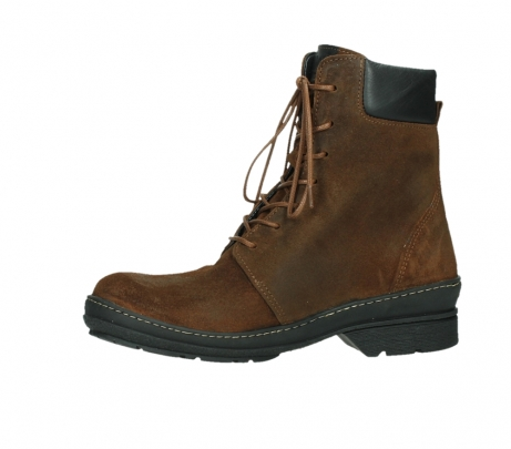 wolky ankle boots 07640 partizan 45410 tobacco suede_12