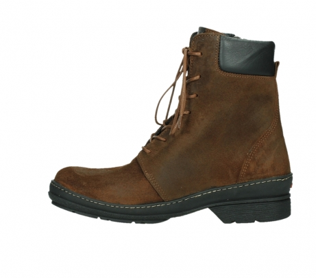 wolky ankle boots 07640 partizan 45410 tobacco suede_13