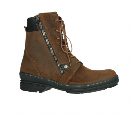 wolky ankle boots 07640 partizan 45410 tobacco suede_2