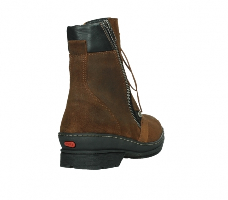 wolky ankle boots 07640 partizan 45410 tobacco suede_21