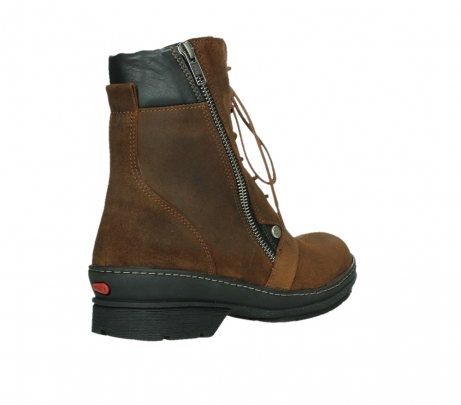 wolky ankle boots 07640 partizan 45410 tobacco suede_22