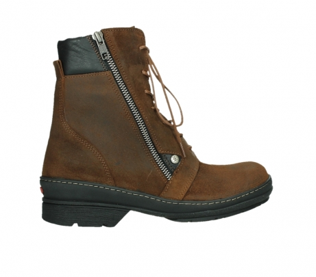 wolky ankle boots 07640 partizan 45410 tobacco suede_24