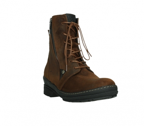 wolky ankle boots 07640 partizan 45410 tobacco suede_5