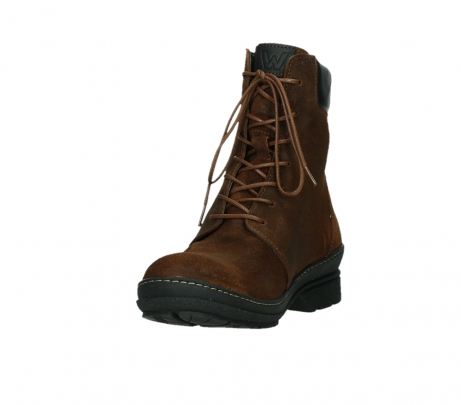 wolky ankle boots 07640 partizan 45410 tobacco suede_9