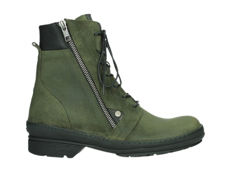 wolky ankle boots 07640 partizan 45730 forestgreen suede_1