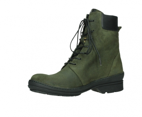 wolky ankle boots 07640 partizan 45730 forestgreen suede_11