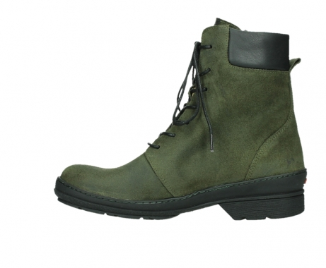 wolky ankle boots 07640 partizan 45730 forestgreen suede_13