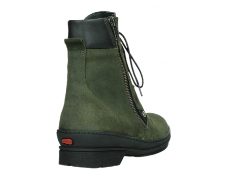 wolky ankle boots 07640 partizan 45730 forestgreen suede_21