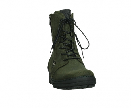 wolky ankle boots 07640 partizan 45730 forestgreen suede_6