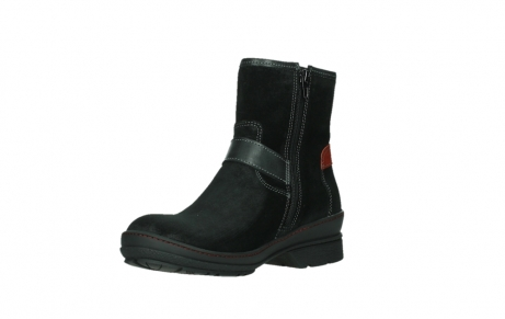 wolky ankle boots 07641 nitra 45000 black suede_10