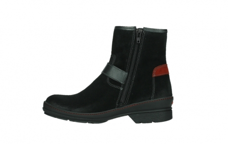 wolky ankle boots 07641 nitra 45000 black suede_13