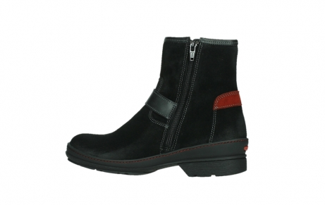 wolky ankle boots 07641 nitra 45000 black suede_14