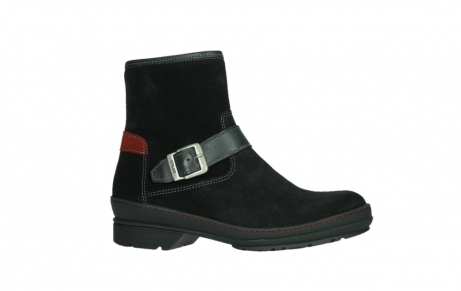 wolky ankle boots 07641 nitra 45000 black suede_2